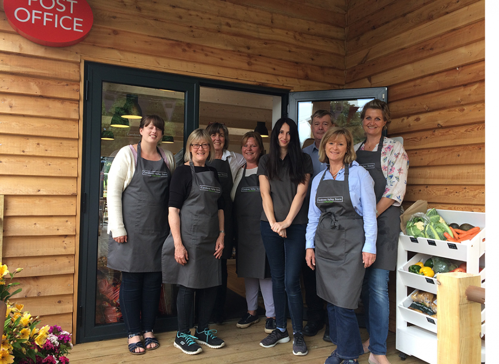 Volunteers at Candover Valley Store